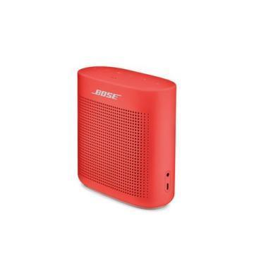 Bose SoundLink Color II Bluetooth Speaker, Coral Red