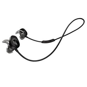 Bose SoundSport Earphones with Case, Black