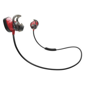 Bose SoundSport Pulse Wireless In-Ear Headphones, Red