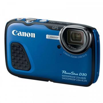 Canon PowerShot D30 Waterproof Digital Camera (Blue)