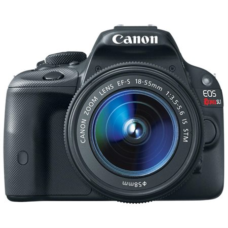 Canon EOS Rebel SL1 DSLR Camera with 18-55mm Lens (Black)