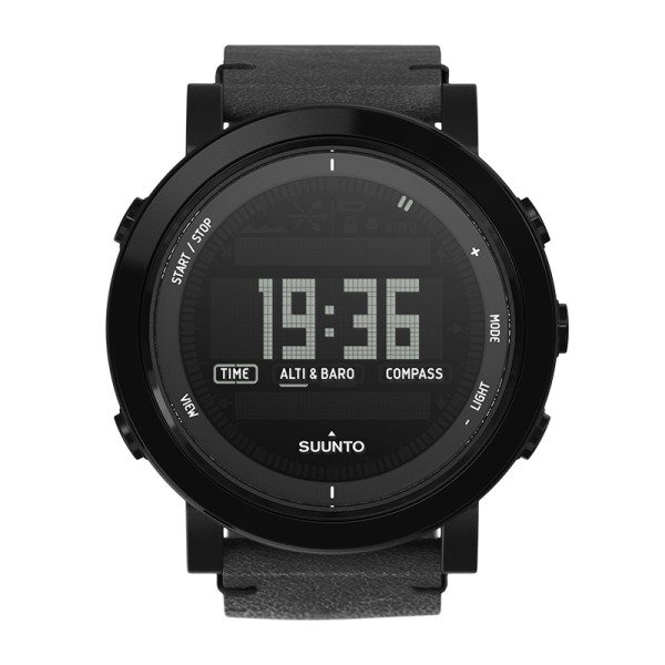 Suunto Essential Ceramic All Black Outdoor Watch