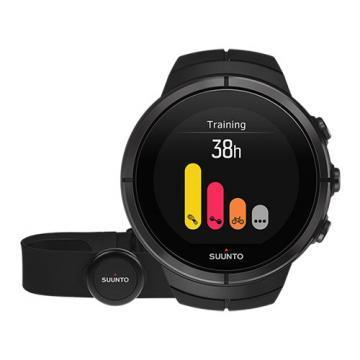 Suunto Spartan Ultra All Black Titanium HR Multisport GPS Watch