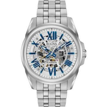 Bulova Automatic Silver Tone Watch