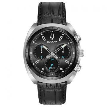 Bulova CURV Chronograph Leather