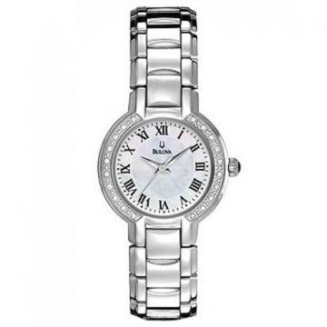 Bulova Diamonds Classic Mother Of Pearl Watch