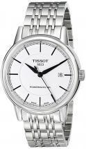 Tissot Carson Automatic Gent White Tone Watch