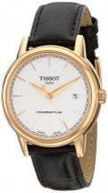 Tissot Carson Automatic Gent Black Gator Leather Watch