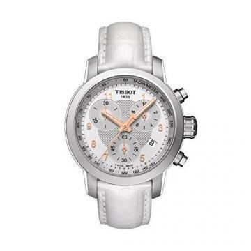 Tissot PRC 200 Quartz Chronograph Lady Leather