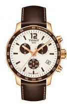 Tissot Quickster Chronograph Brown Leather