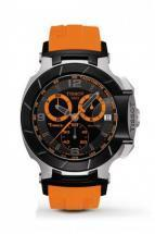 Tissot T-Race Chronograph Orange Rubber