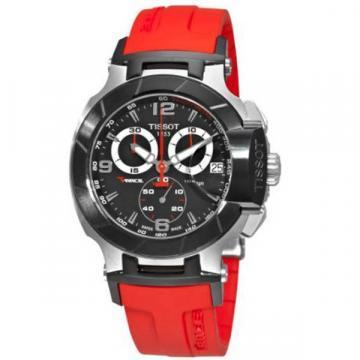 Tissot T-Race Chronograph Red Rubber