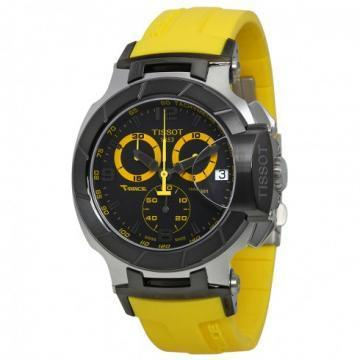 Tissot T-Race Chronograph Yellow Rubber