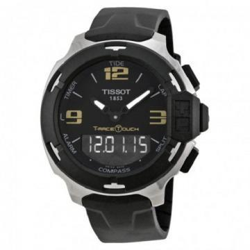 Tissot T-Race Touch Steel Black Rubber Watch