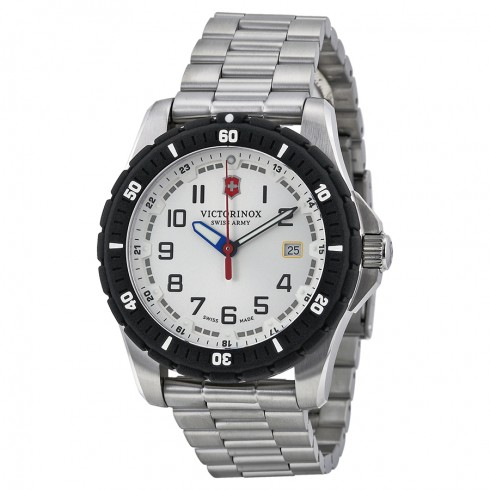 Victorinox Maverick Sport Large Silver Tone Watch
