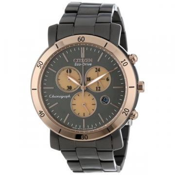 Citizen Eco-Drive AML Chronograph Black IP