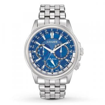 Citizen Eco-Drive Calendrier Multifunction Blue Dial Chronograph