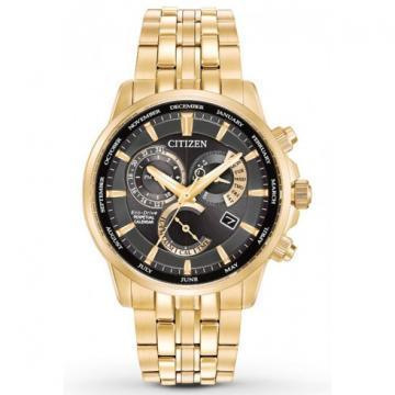 Citizen Eco-Drive Calibre 8700 Gold Tone Chronograph