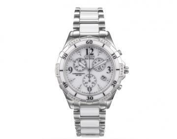 Citizen Eco-Drive Ceramic Chronograph 32 Diamonds