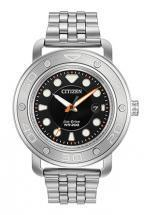 Citizen Eco-Drive Eco-DIY Interchangeable Silver Tone & Polyurethane Watch