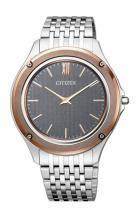 Citizen Eco-Drive One World's Thinnest Gray Dial Watch