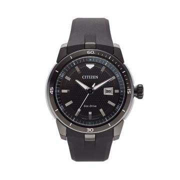 Citizen Eco-Drive Ecosphere Black Polyurethane Watch