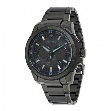 Citizen Eco-Drive Ecosphere Chronograph Black IP All