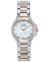 Citizen Eco-Drive Fiore 65 Diamonds Two Tone Watch