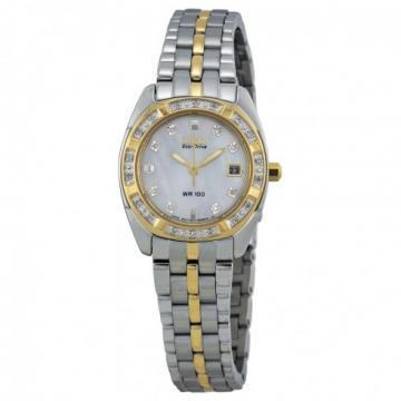 Citizen Eco-Drive Paladion Two Tone 26 Diamonds Watch