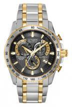 Citizen Eco-Drive Perpetual Chrono A-T Two Tone Chronograph