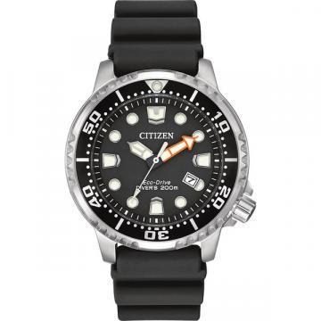 Citizen Eco-Drive Promaster Diver Black Polyurethane Watch