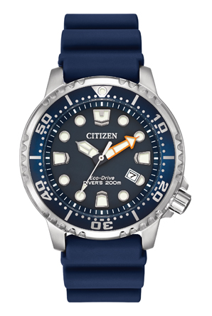 Citizen Eco-Drive Promaster Diver Blue Polyurethane Watch
