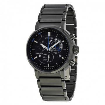 Citizen Eco-Drive Proximity Smart Chronograph Black IP