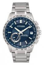 Citizen Eco-Drive Satellite Wave - World Time GPS Blue Dial Watch