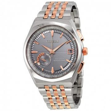 Citizen Eco-Drive Satellite Wave - World Time GPS Two Tone Watch