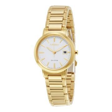 Citizen Eco-Drive Silhouette Sport Gold Tone Watch