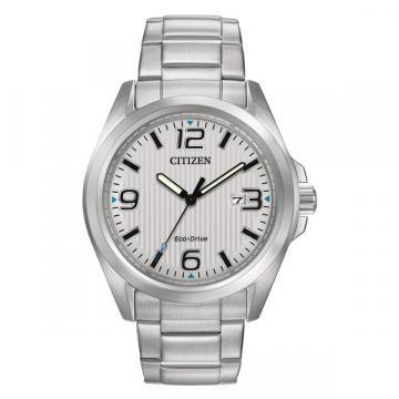 Citizen Eco-Drive Silver Tone All Bracelet Watch