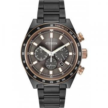 Citizen Eco-Drive Sport Chronograph Black IP