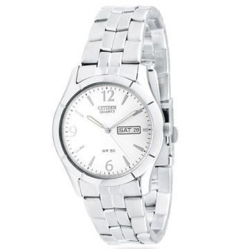 Citizen Quartz All Silver Tone Watch