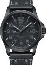 Luminox Atacama Field Day Date Blackout Leather Men's Watch
