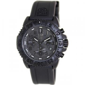 Luminox Colormark Chronograph Black Rubber