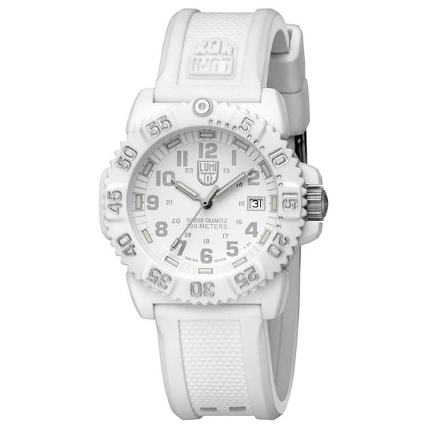 Luminox Colormark Whiteout Rubber Women's Watch
