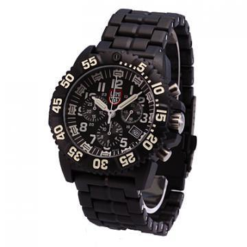 Luminox Navy Seal Colormark Chronograph Black Dial Rubber Strap