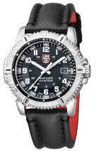 Luminox Sea Modern Mariner Black Dial Leather Strap Men's Watch