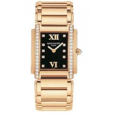 Patek Philippe Rose Gold Ladies Twenty~4 Chocolate Dream Watch
