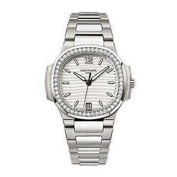 Patek Philippe Stainless Steel Ladies Nautilus Watch