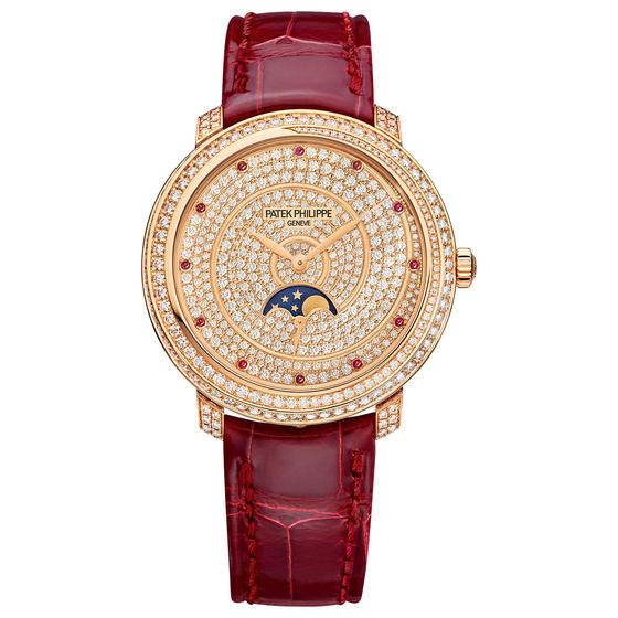 Patek Philippe Rose Gold Ladies Complications Watch