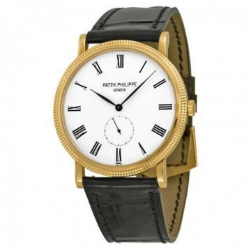 Patek Philippe Rose Gold Men Calatrava Watch