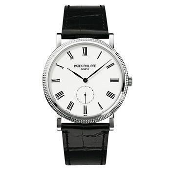 Patek Philippe White Gold Men Calatrava Watch