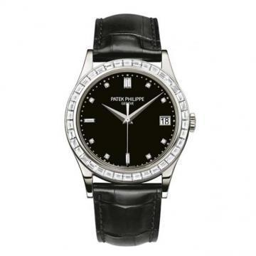 Patek Philippe Platinum Men Calatrava Watch